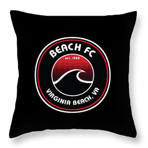 Throw Pillow / Beach FC