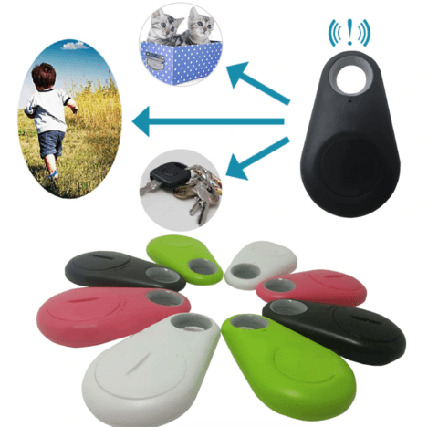 GPS Bluetooth tracker