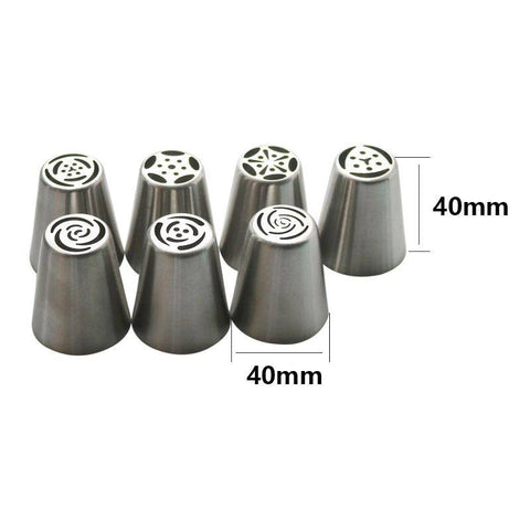 13PCS Pastry Nozzles And Coupler