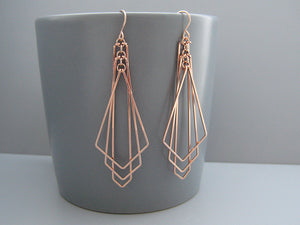 Geometric and Art Deco Earrings