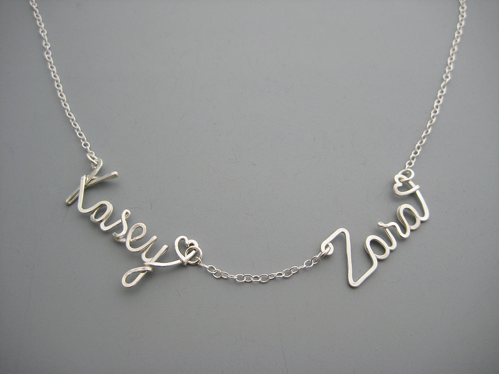 Two Name Necklace