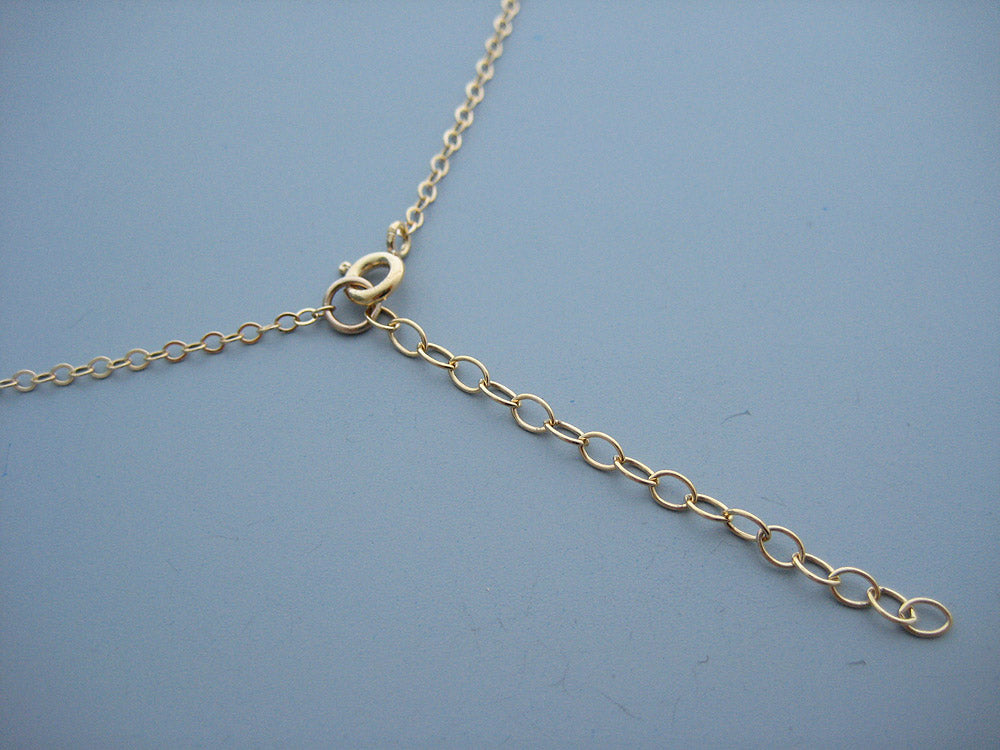 "Custom Order - 14k Gold Filled Chain 17"" with 3"" Extender"