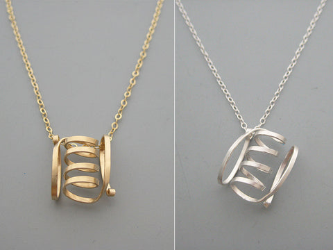 G-Protein Structure Geometric Necklace