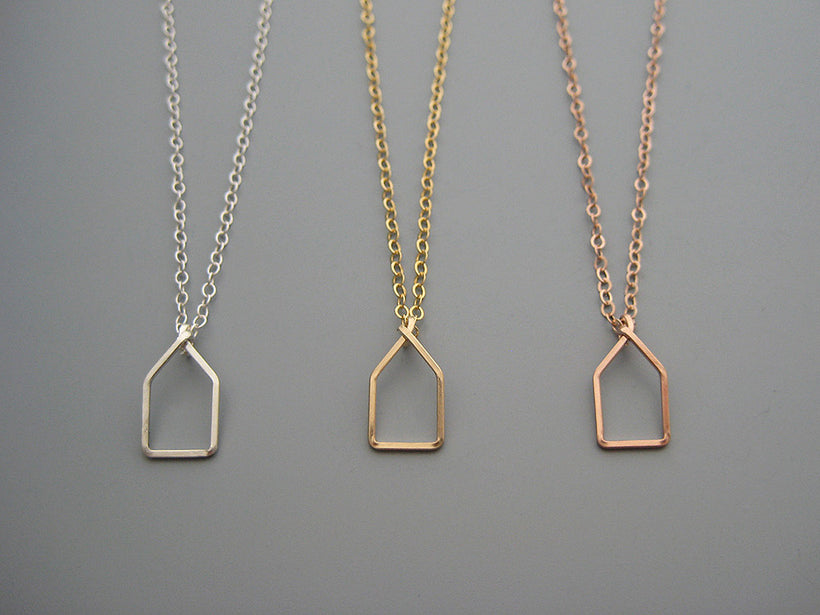 Geometric and Art Deco Necklaces