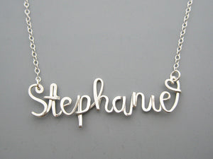 Whimsical Name Necklace