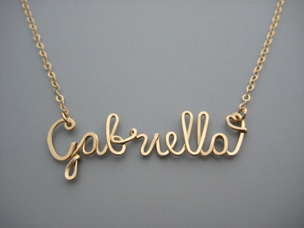 One Name Necklace