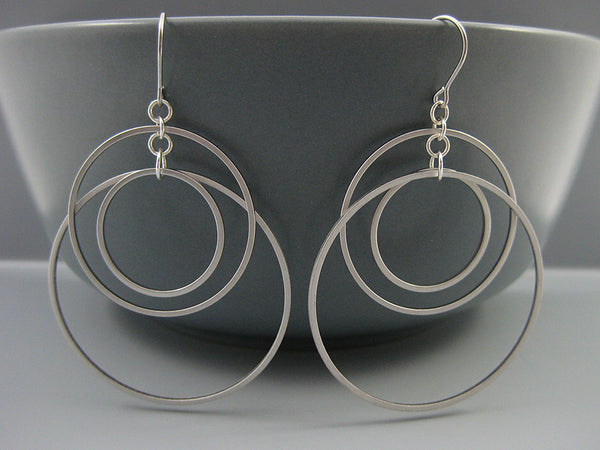 Sunset Hoop Earrings