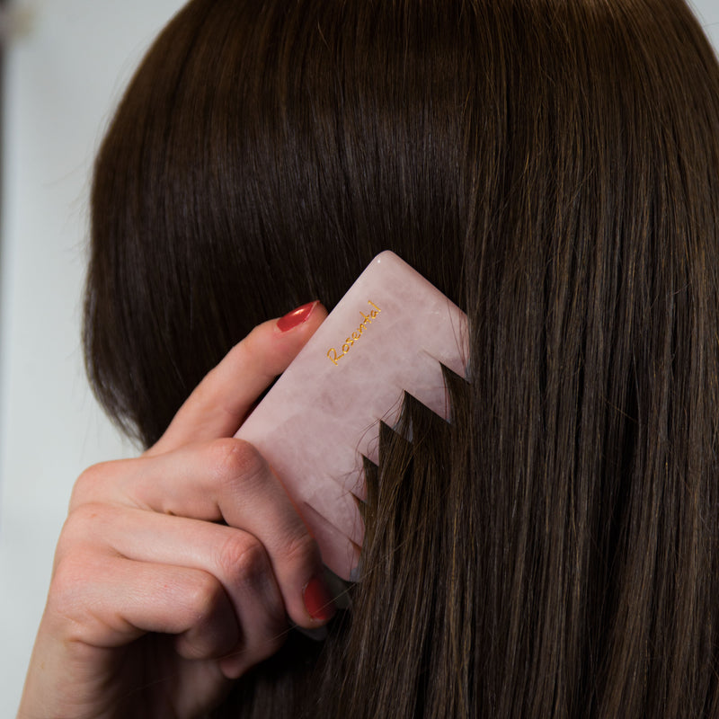 The Comb | Rose Quartz