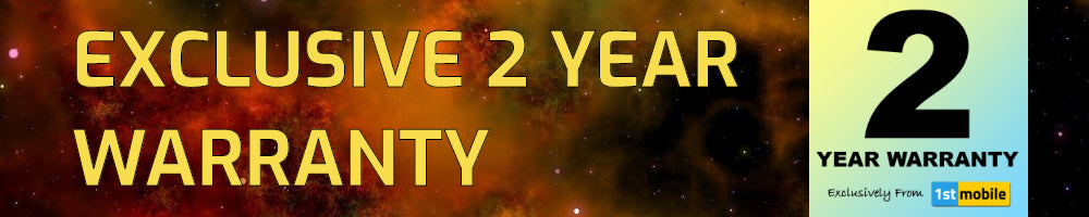 Exclusive 2 Year Warranty at 1stmobile.co.uk - 01