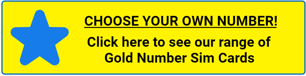 Gold Number Sim Cards at 1stmobile.uk