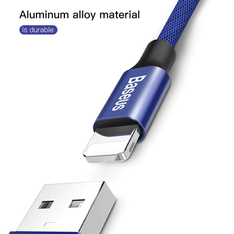 Premium Extra Strength USB Cable for iPhone/iPad, 2 lengths available