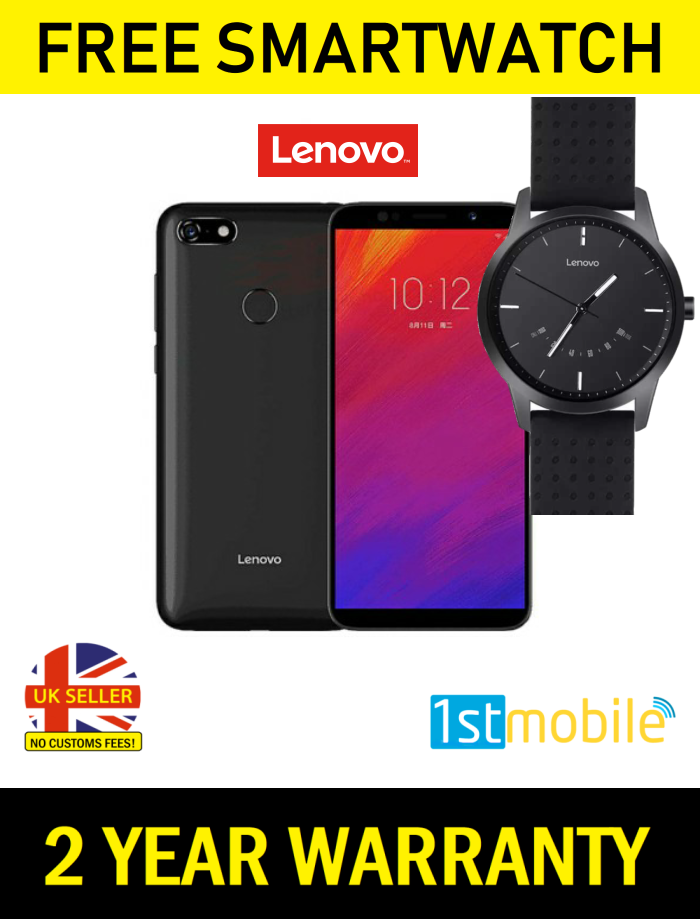 Lenovo A5 smartphone with free Lenovo smartwatch offer from 1stmobile.co.uk