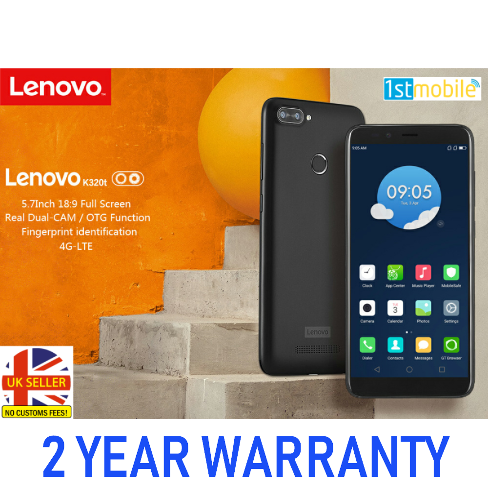 "Lenovo K320T 5.7"" Dual Sim Android Smartphone"