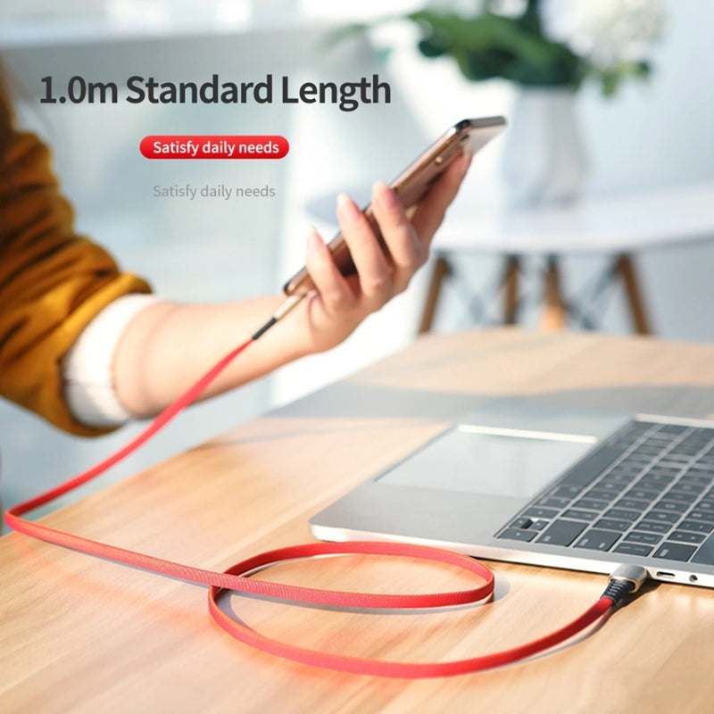 Reinforced cable for iPhone, Charge and Sync, 1 metre