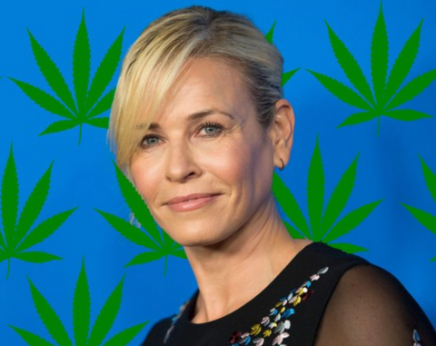 chelsea handler woman in cannabis