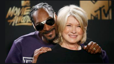 Martha Stewart and snoop dog weed
