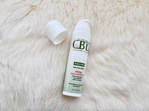 CBD topical pain cream