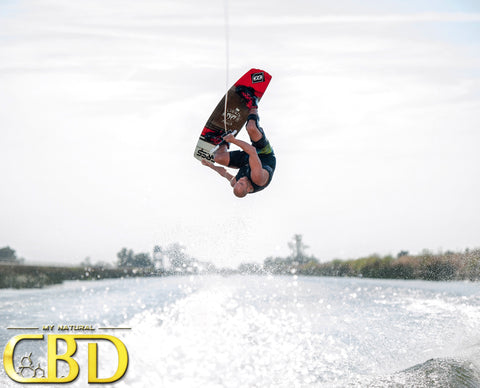 CBD Tinctures from My Natural CBD Help Chad Lowe when he wakeboards