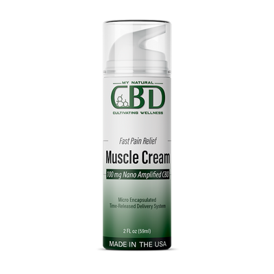 Nano Infused Micro Encapsulated CBD Muscle Cream