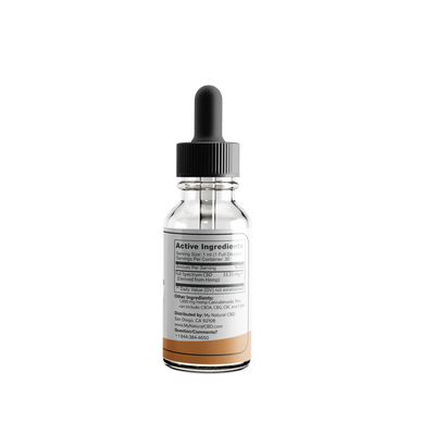 1,000 mg Full Spectrum CBD Oil Tincture