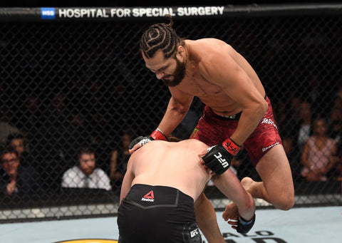 Jorge Masvidal - UFC 239 flying knee kick