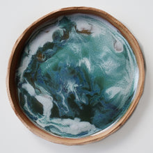 Load image into Gallery viewer, Ocean Marbled Plate