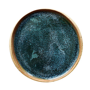 Blue Speckled Reef Plate