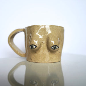 Side Eye Au Naturale Mug