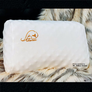 JSY Lady Massage Latex Pillow Mr Pillow Global soft durable cool pillow