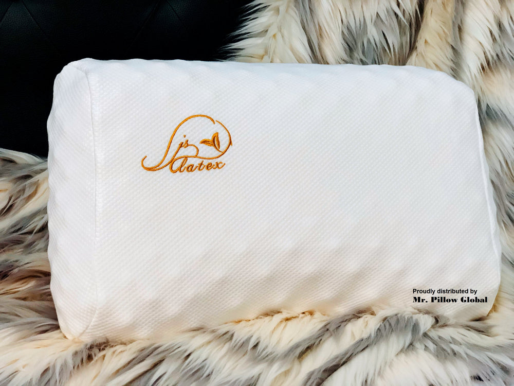 Mr pillow global lady massage natural latex pillow JSY Latex