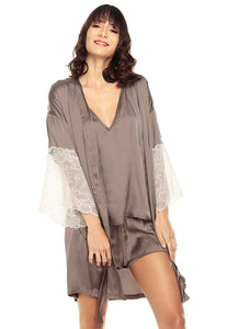 ELIZABETH TAUPE COVER UP
