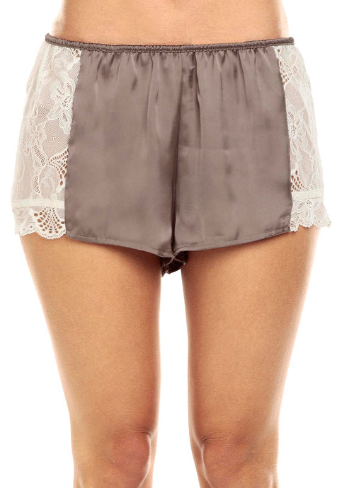 SHORT PARIS TAUPE