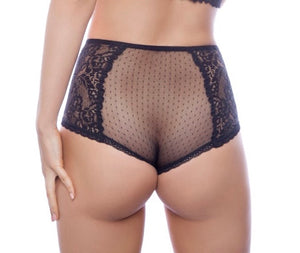 Black High Waisted Brief - Lelek - Ayrawear