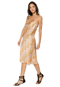 VESTIDO PRISMA MIDI 'WOMAN IN GOLD' - Ayrawear