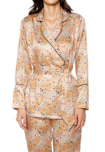 Load image into Gallery viewer, CRYSTAL 'WOMAN IN GOLD' LOUNGE SHIRT - Ayrawear