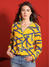 Load image into Gallery viewer, CAMISA ADRIANA YELLOW