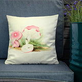 The Sickener (Russula emetica) Botanical Print Premium Pillow - Multimush