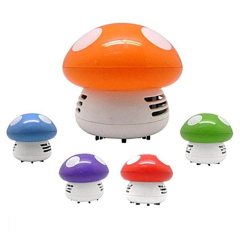 Cute Mushroom Mini Vacuum Cleaner - Handheld and Portable - Multimush
