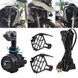 FEUX ANTIBROUILLARD ADDITIONNELS 40W LED BMW R1200GS ADV F800GS R1100GS