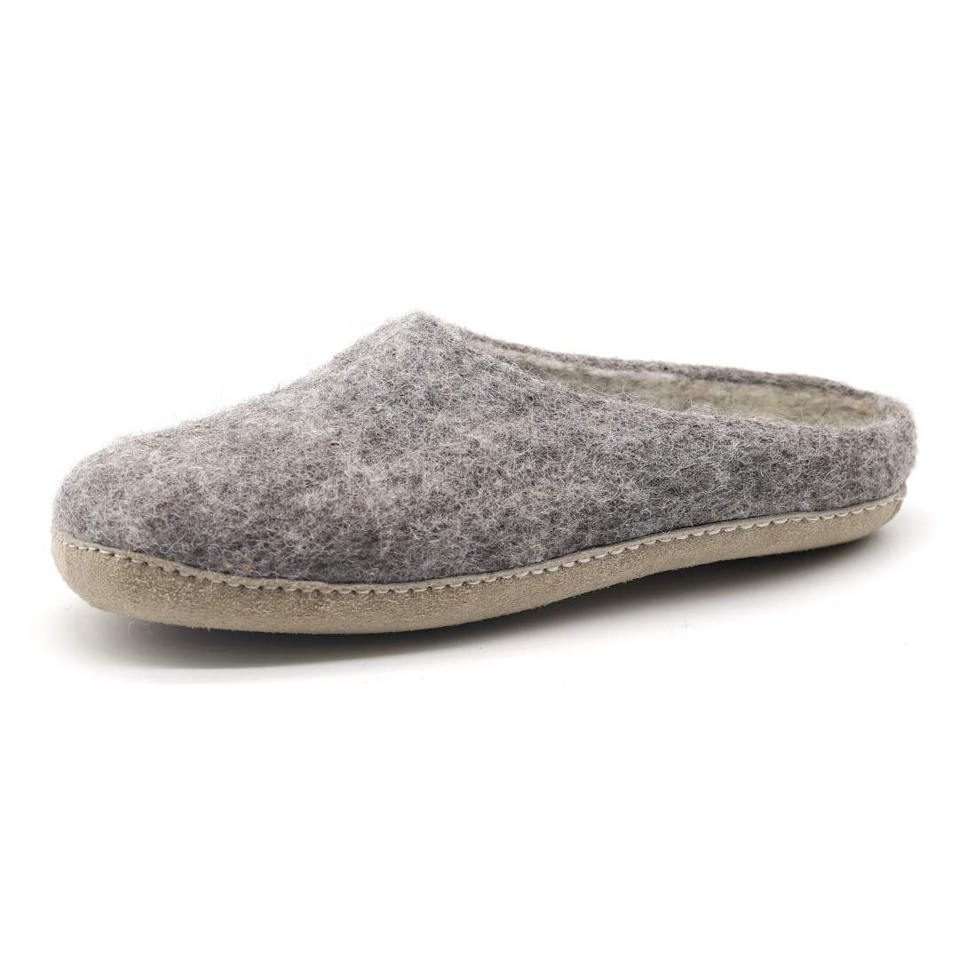 Men's Astoria Wool House Slippers in Heather