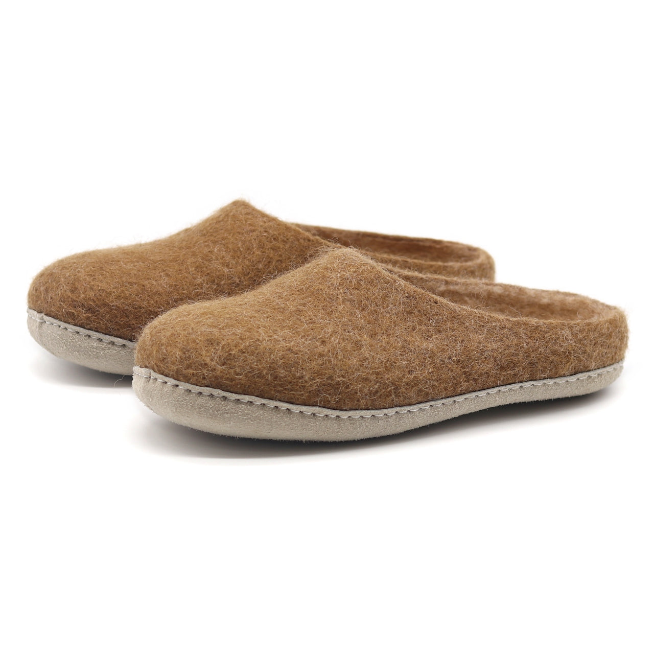Women's Astoria Wool House Slippers in Toffee
