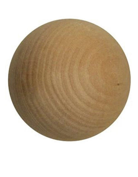 Swedish Wooden Stick Handling Ball 2""