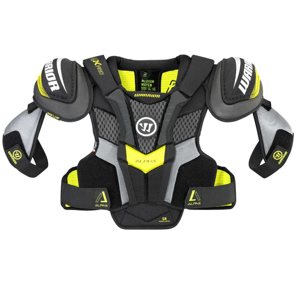 Warrior Alpha QX Pro Shoulder Pads