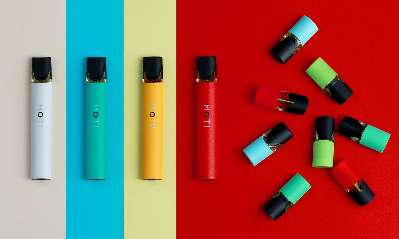 moti vape devices adn e juice pods