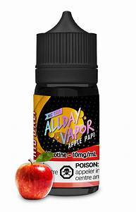 All Day Vapor Salts Apple Papi / 10mg All Day Vapor Salts 30ml
