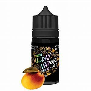All Day Vapor Salts Mucho mango / 12mg All Day Vapor Salts 30ml