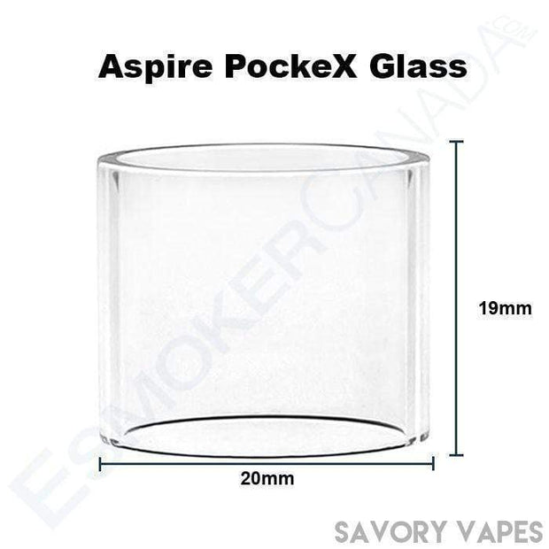 ASPIRE Replacement Glass ASPIRE - PockeX Aio Replacement Glass