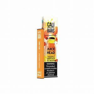Cali Bar Pre Filled pod kit Pineapple Grapefruit Freeze Cali Bar Juice Head Disposable Vapes