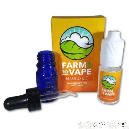 FARM VAPE Herb & Wax Vaporizers Mango Farm to Vape, Vape Concentrate diluting Kits in Various Flavours