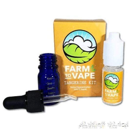 FARM VAPE Herb & Wax Vaporizers Tangerine Farm to Vape, Vape Concentrate diluting Kits in Various Flavours